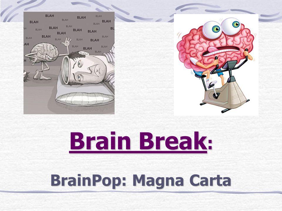Brain Break : BrainPop: Magna Carta