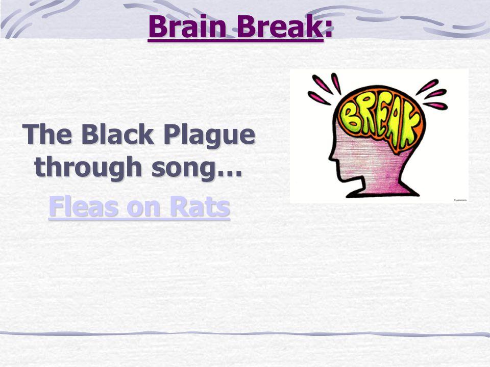 Brain Break: The Black Plague through song… Fleas on Rats Fleas on Rats