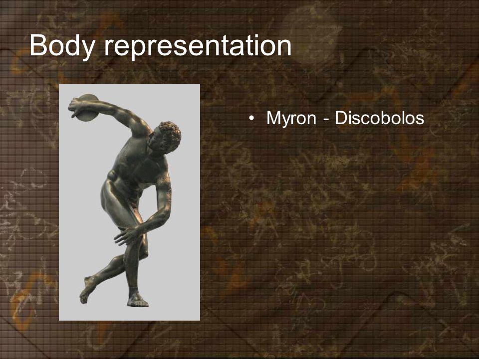 Body representation Myron - Discobolos