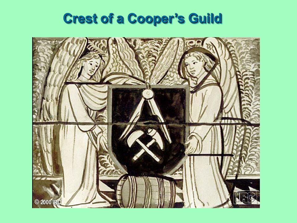 Crest of a Cooper's Guild