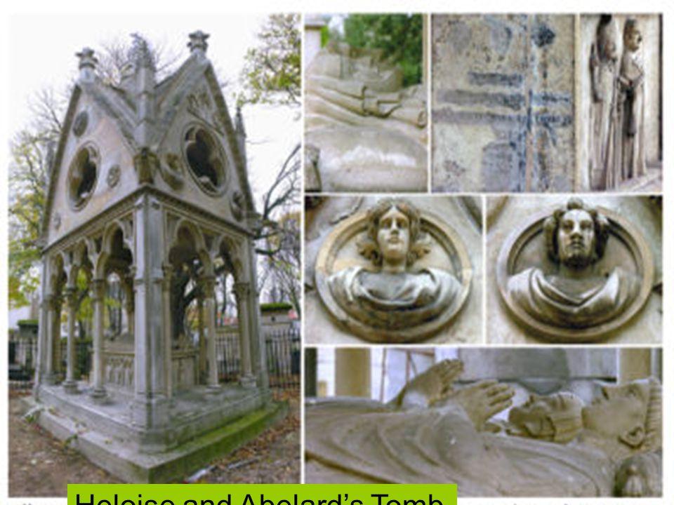 Heloise and Abelard's Tomb