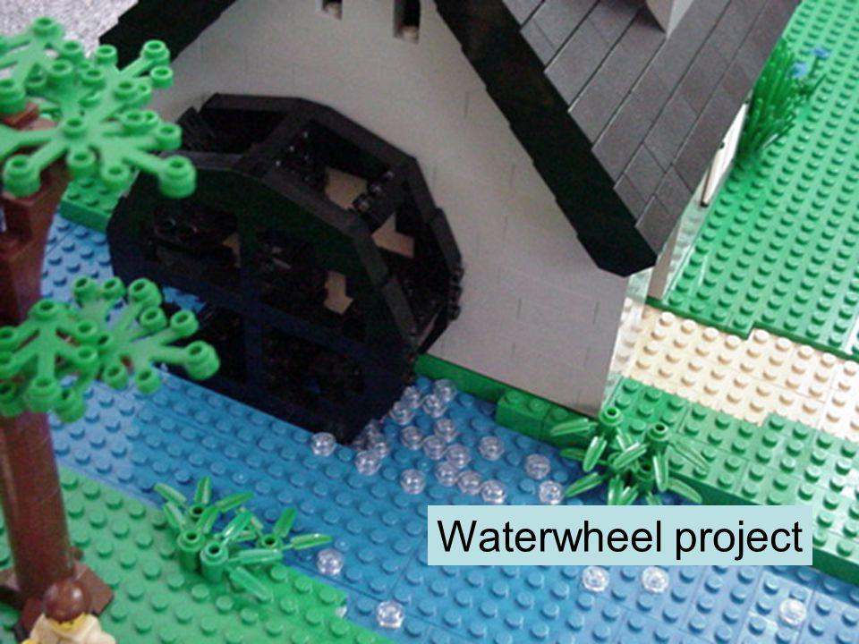 Waterwheel project