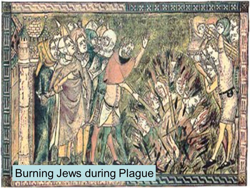 Burning Jews during Plague