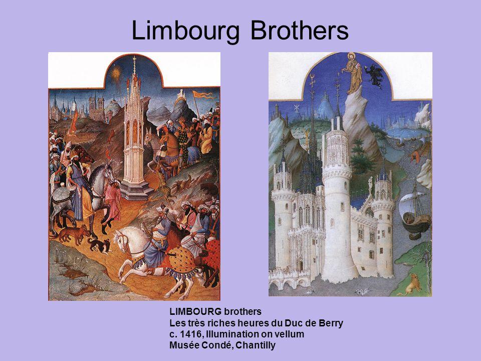 Limbourg Brothers LIMBOURG brothers Les très riches heures du Duc de Berry c.