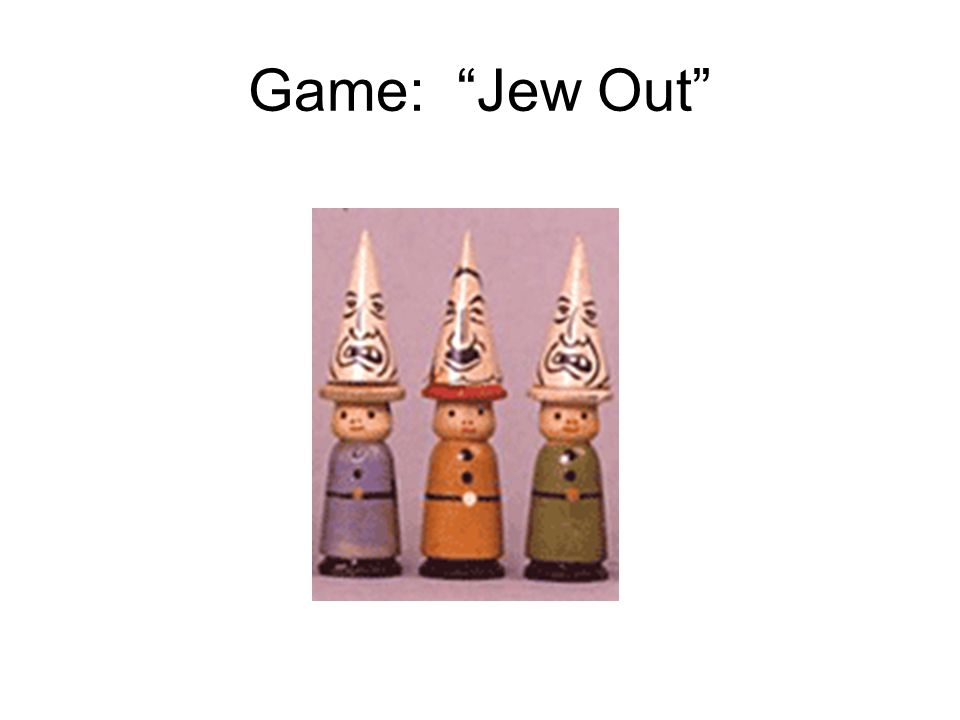 Game: Jew Out