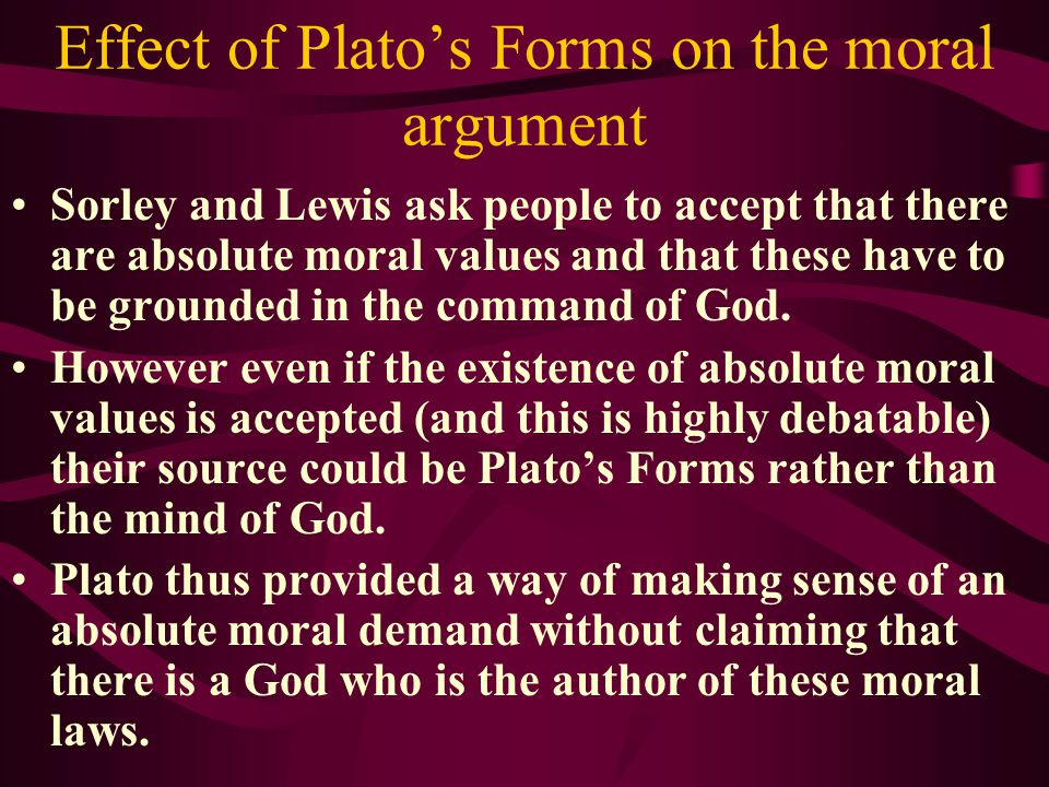 PLATONIC FORMS If we see instances of beauty, justice, goodness Plato assumes that these all participate in or resemble the perfect Forms of Beauty, J