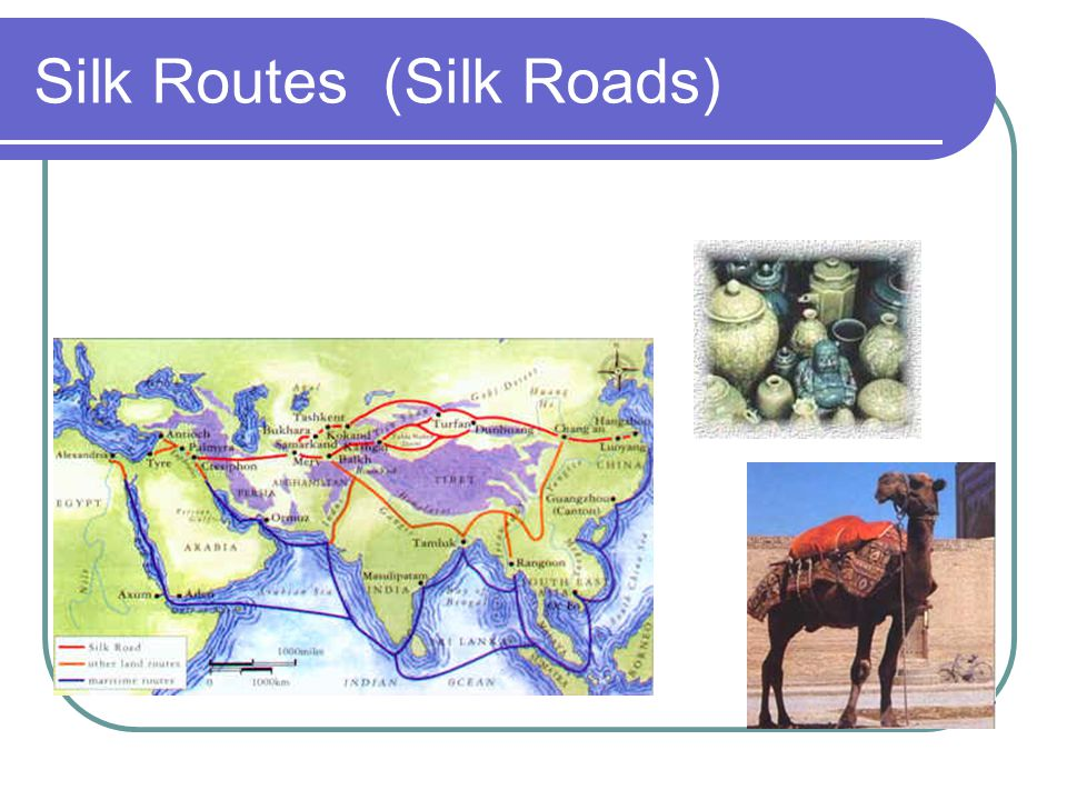 Silk Routes (Silk Roads)