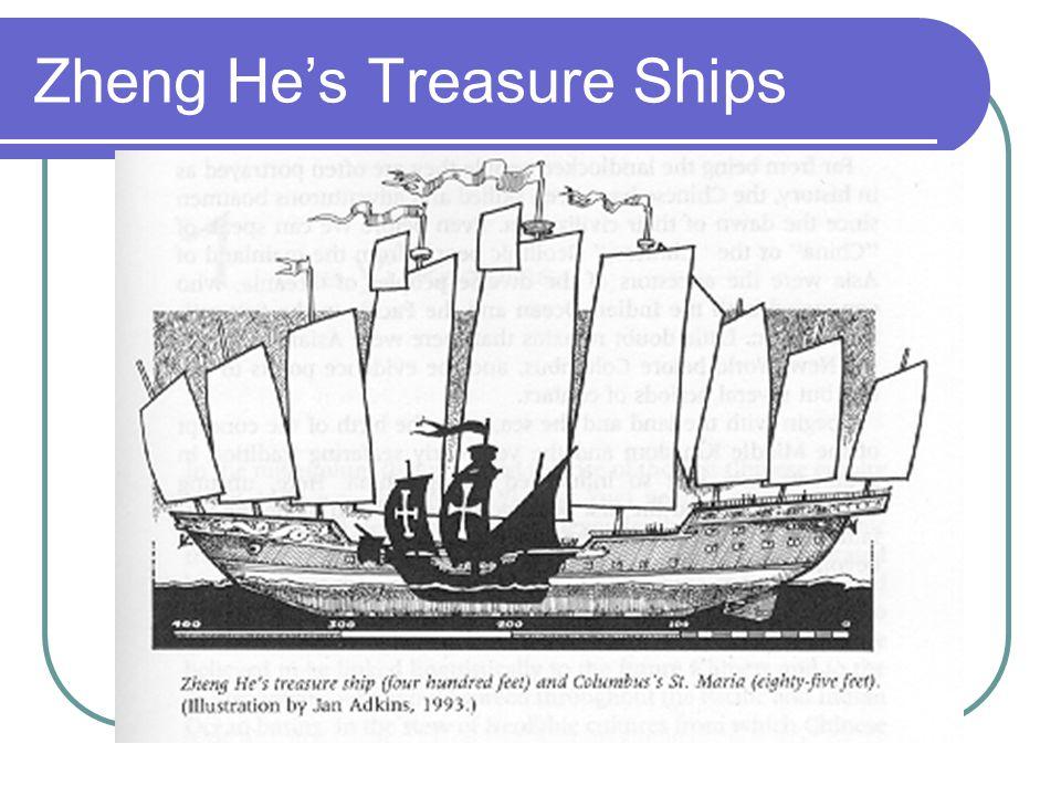 Zheng He's Treasure Ships