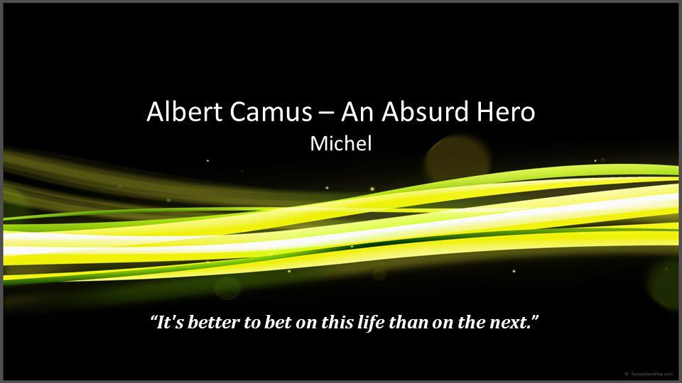 Further Readings Camus, Albert.The Plague.