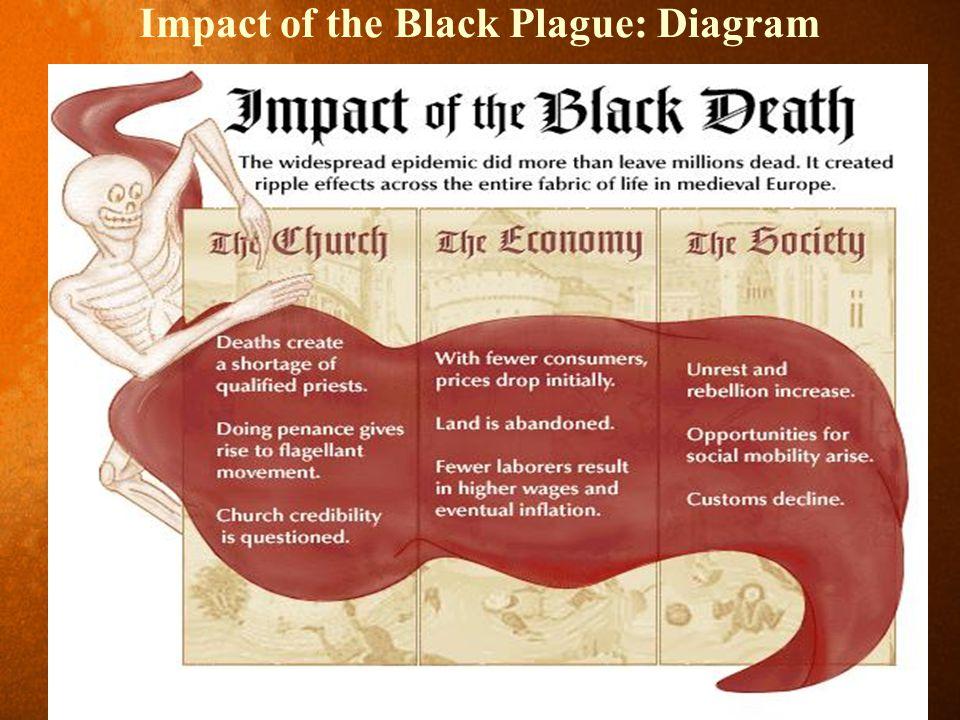 Impact of the Black Plague: Diagram