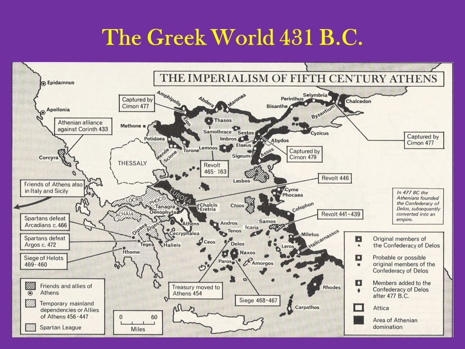 The Greek World 431 B.C.