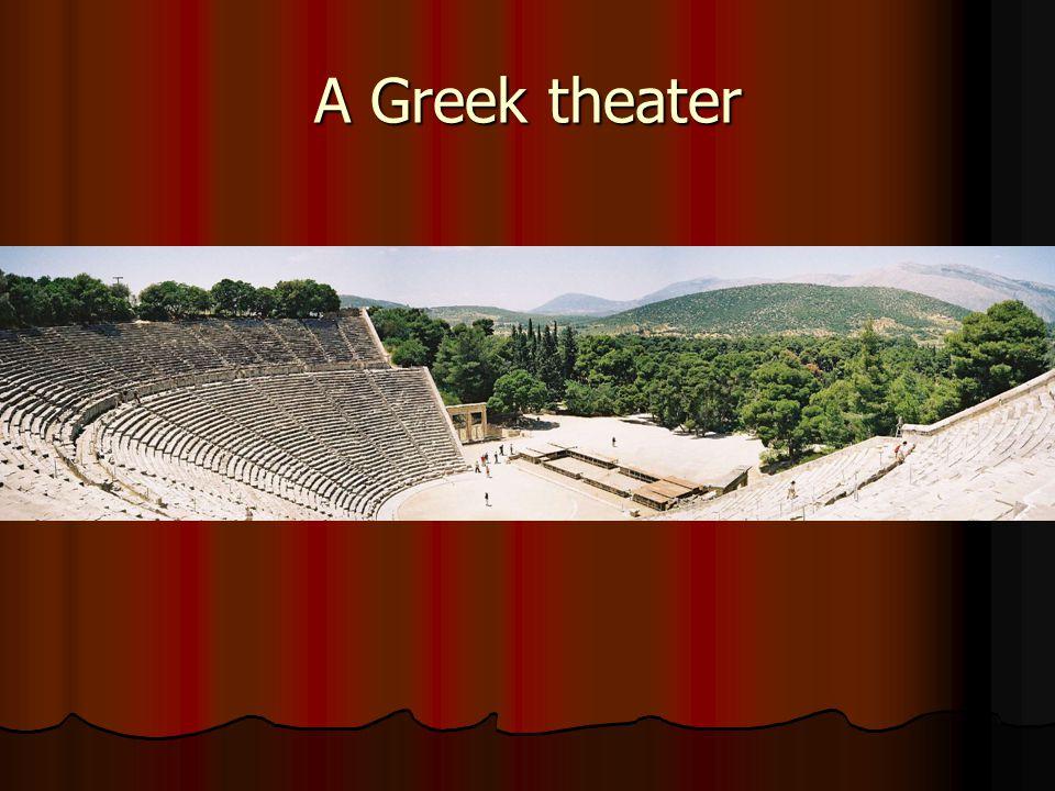 A Greek theater