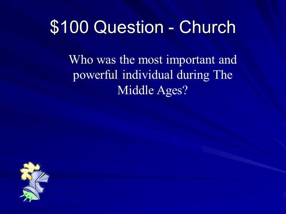 $500 Answer - Feudalism Feudalism
