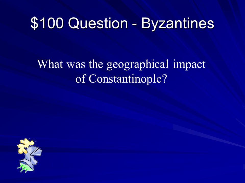 Jeopardy ByzantinesFeudalismChurchCrusades $100 $200 $300 $400 $500 $100 $200 $300 $400 $500 Final Jeopardy Black Death $100 $200 $300 $400 $500
