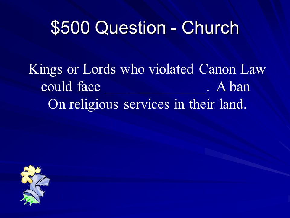 $400 Answer - Church Salvation