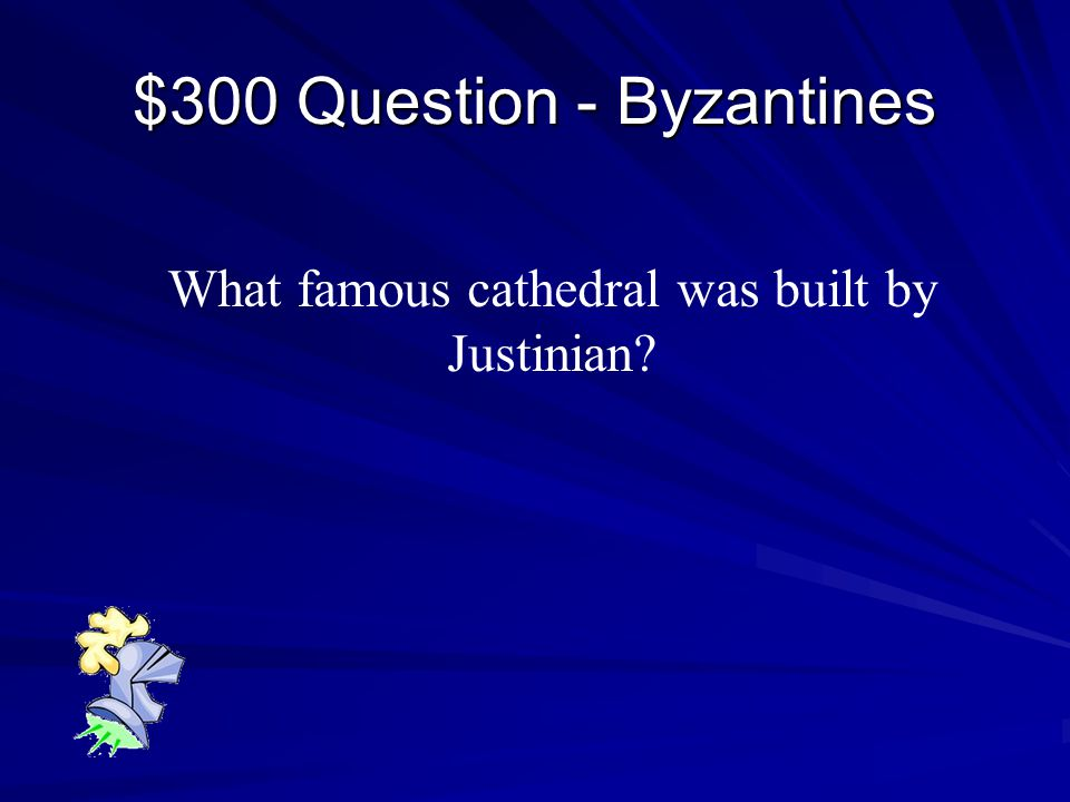 Final Jeopardy Final Jeopardy Compare and contrast Eastern and Western Europe during The Middle Ages.