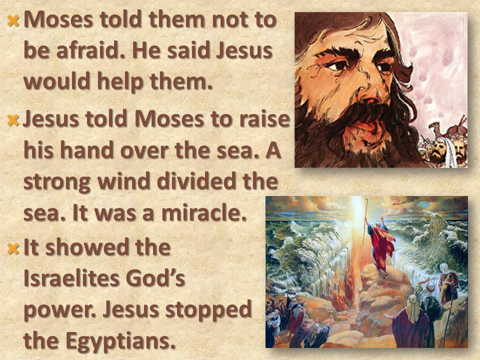  The king of Egypt still wanted the Israelites for slaves.