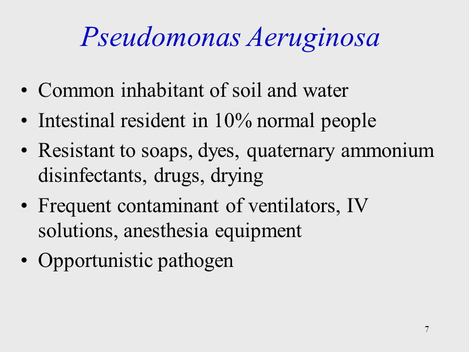 Figure 20.2 Skin rash from Pseudomonas 8