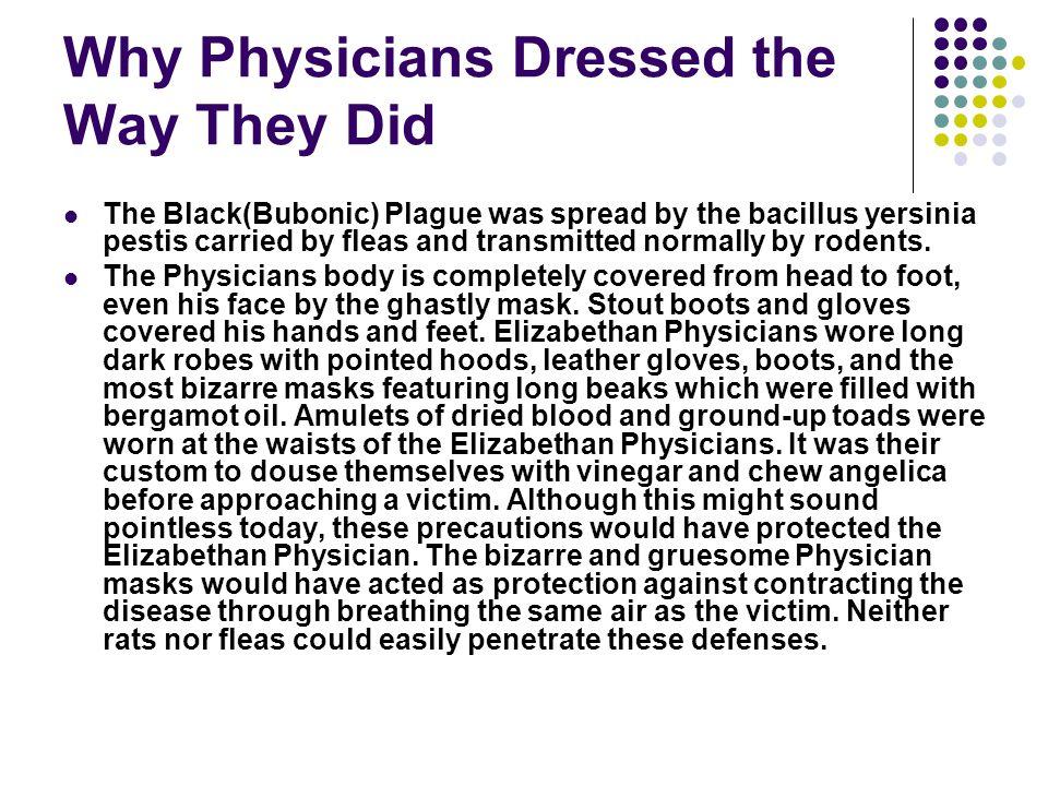 Apothecaries/Physician Dress