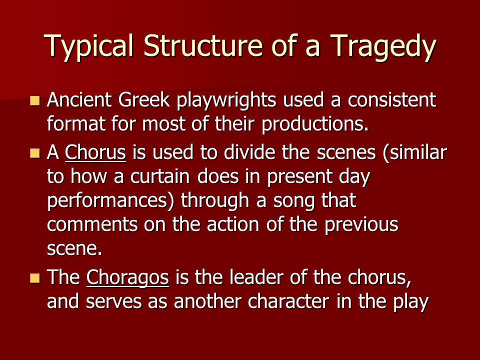 One More Thing...Creon refused to bury Polyneices.