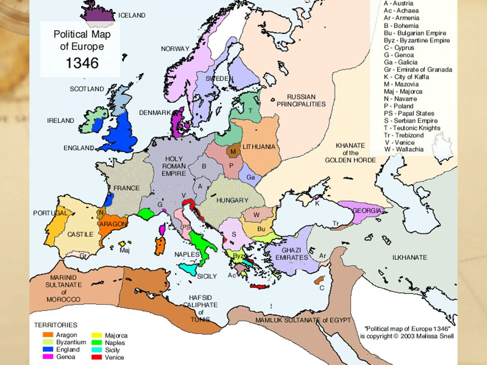 The Black Death How did the Black Death change life in Europe.