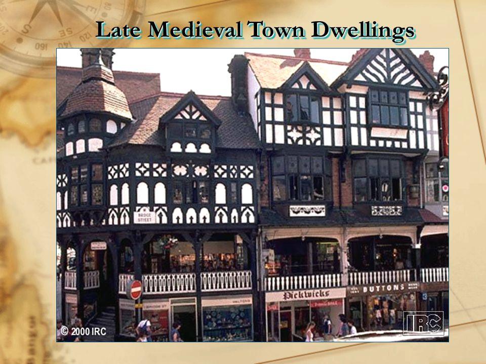 Late Medieval Town Dwellings