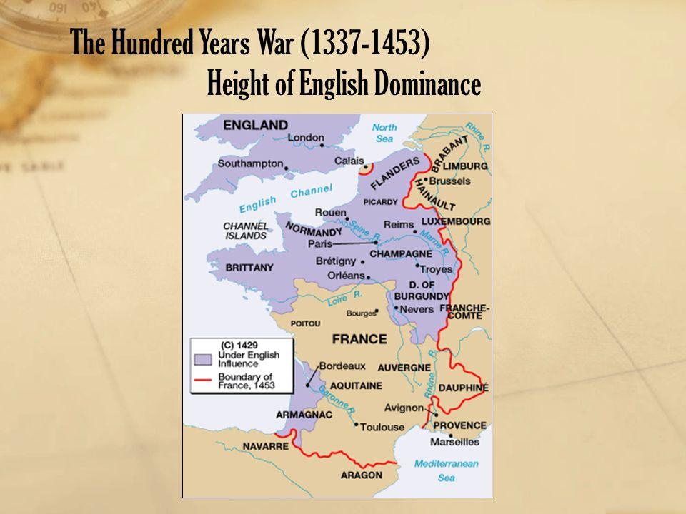 Height of English Dominance