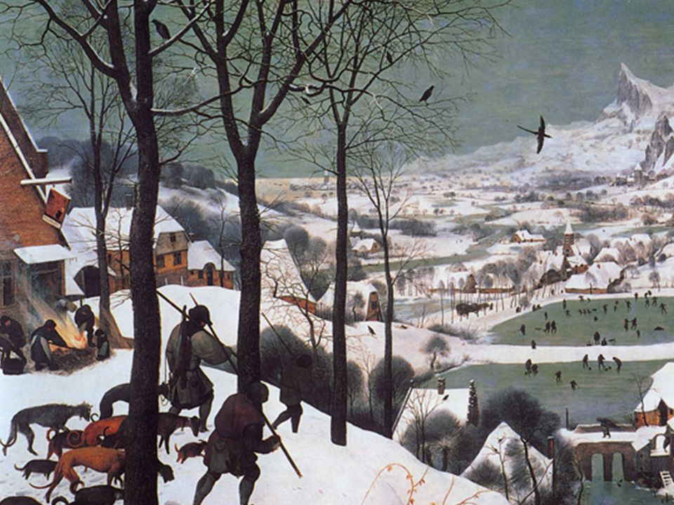 What you just saw is a Bruegel who happened to be avantgarde somewhere between the discovery of America and the fall of the Berlin wall. On the follow
