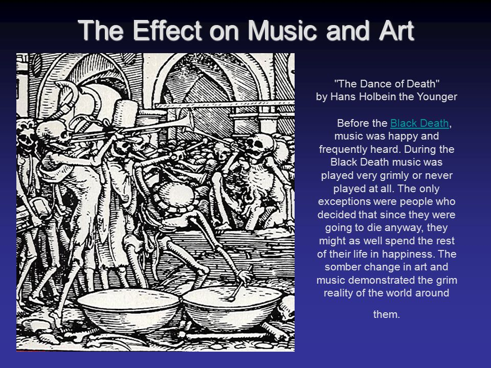 The Effect on Music and Art