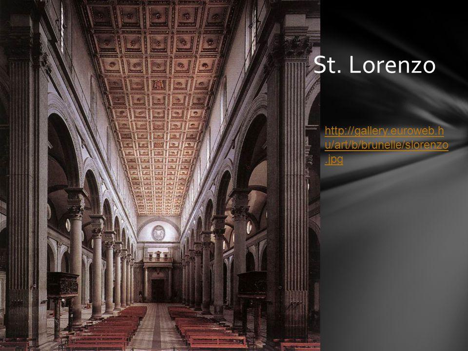 St. Lorenzo http://gallery.euroweb.h u/art/b/brunelle/slorenzo.jpg