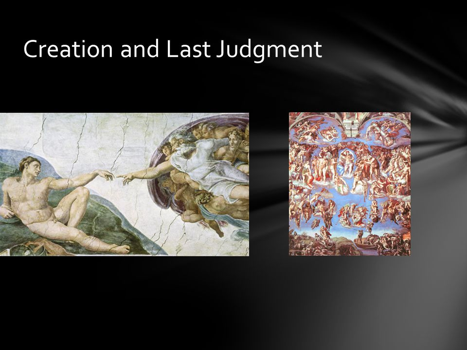 Creation and Last Judgment