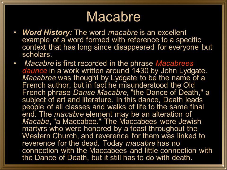 The Danse Macabre