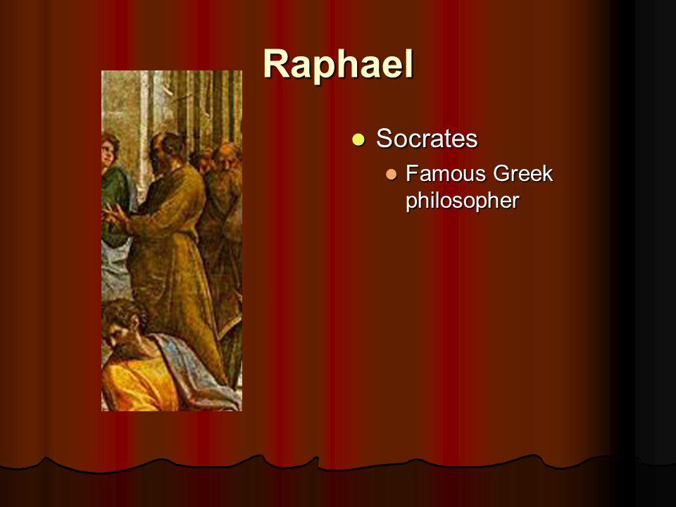 Raphael Socrates Socrates Famous Greek philosopher