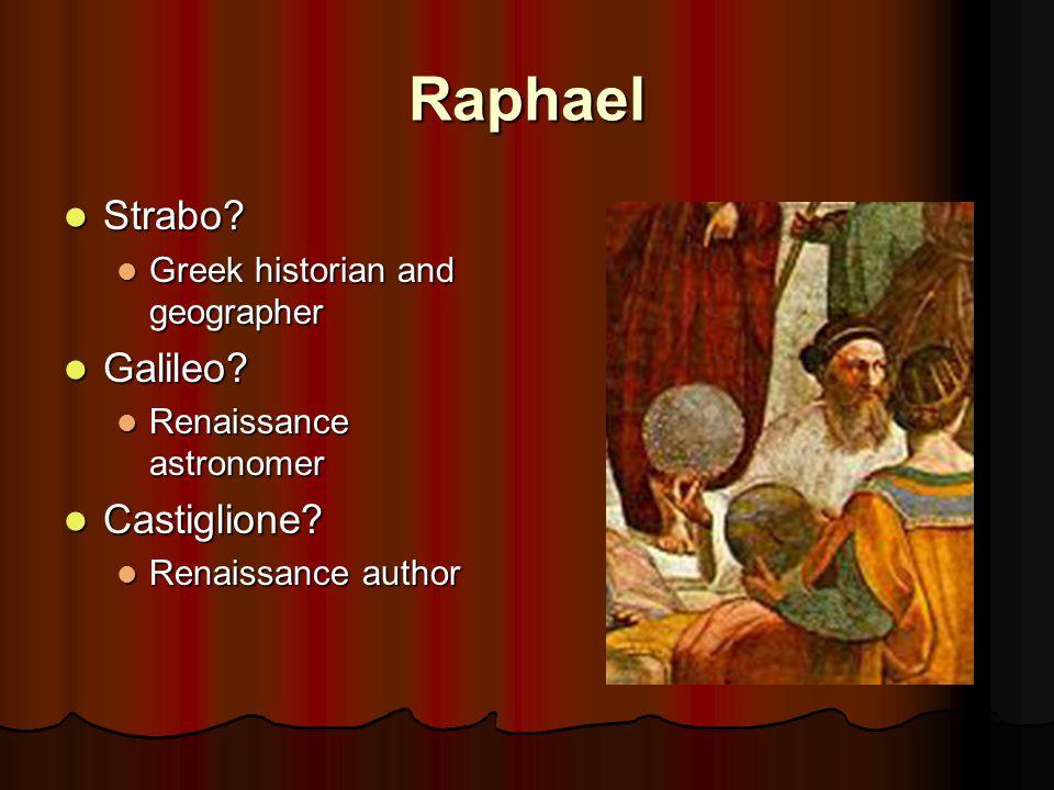 Raphael Strabo.Strabo. Greek historian and geographer Greek historian and geographer Galileo.
