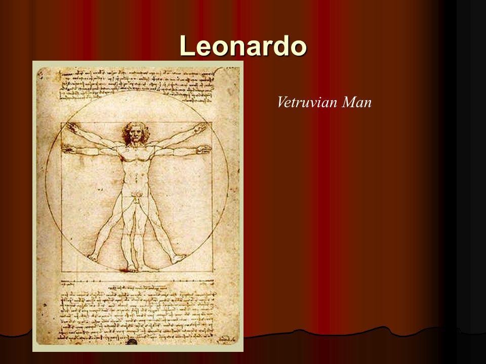 Leonardo Vetruvian Man