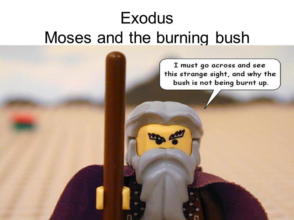 Exodus Moses and the burning bush