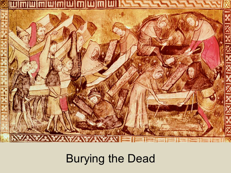 Burying the Dead