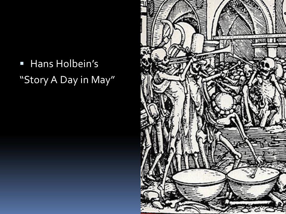  Hans Holbein's Danse Macabre