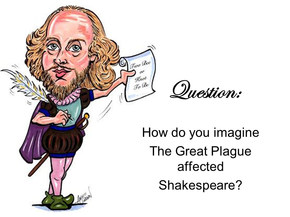 Question: How do you imagine The Great Plague affected Shakespeare