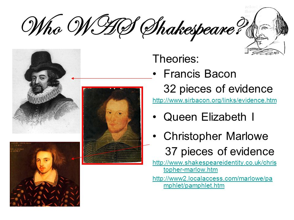 Who WAS Shakespeare.