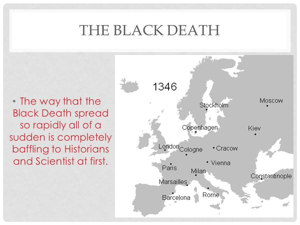 THE BLACK DEATH Questions : 1) What does the term Plague mean.