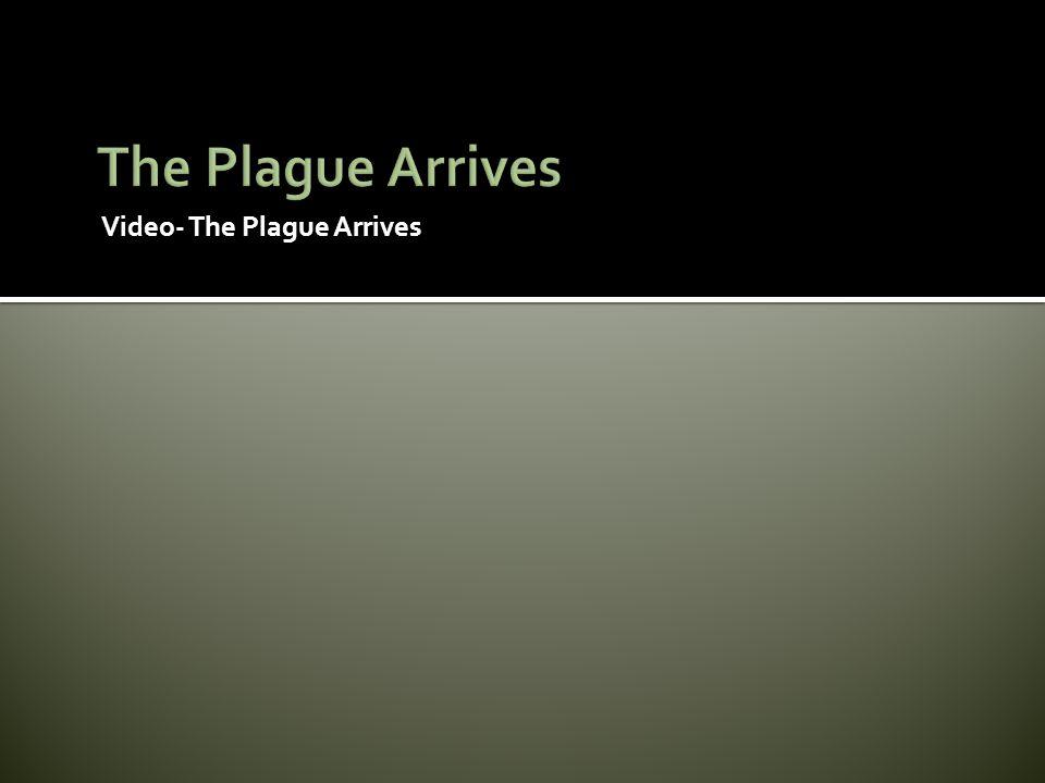 Video- The Plague Arrives