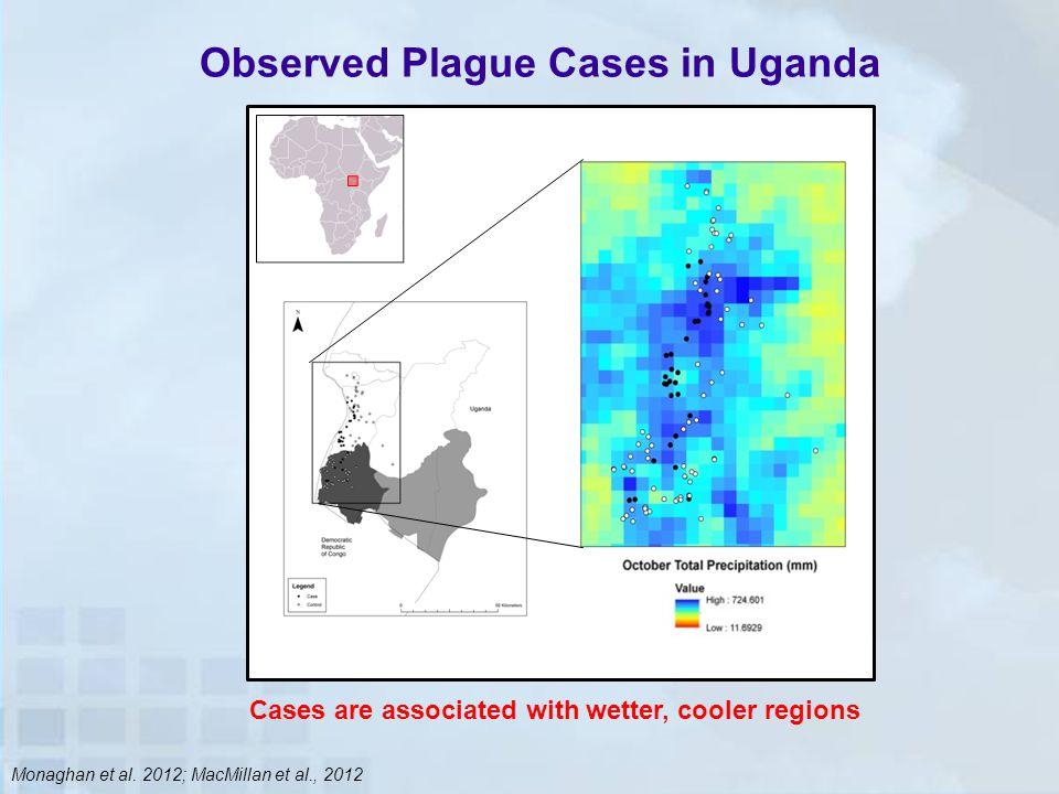 Observed Plague Cases in Uganda Monaghan et al.