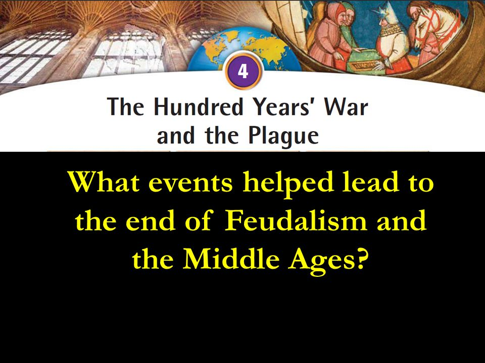 Impact of the Hundred Years' War Page 403 -Feeling of nationalism emerged in England and France – King a national leader, fighting for the nation - power and prestige of French monarch increased - English fell into War of the Roses, in which two noble houses fought for the throne * Hundred Years' War marks the end of the Middle Ages