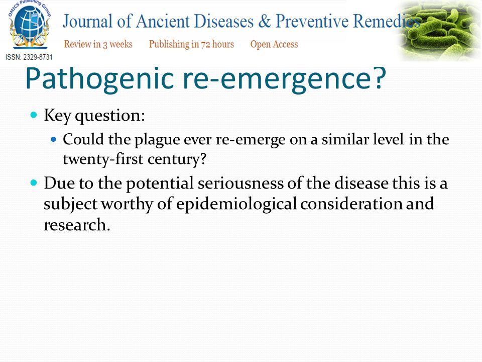Pathogenic re-emergence.