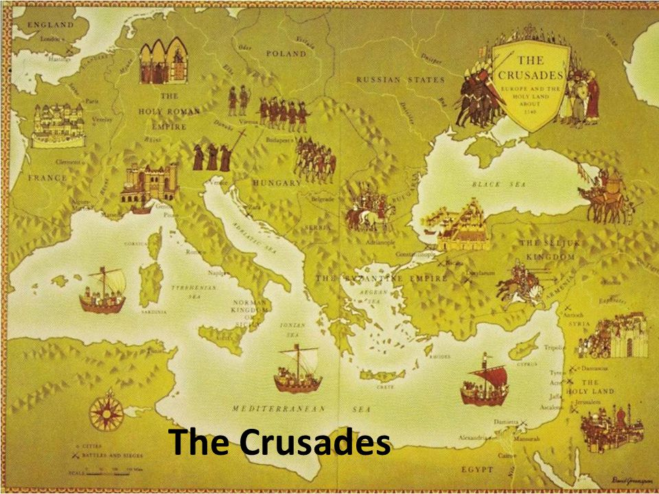New Ships Before the CrusadesAfter the Crusades