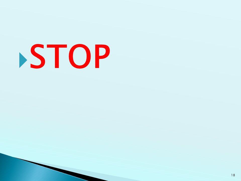  STOP 18