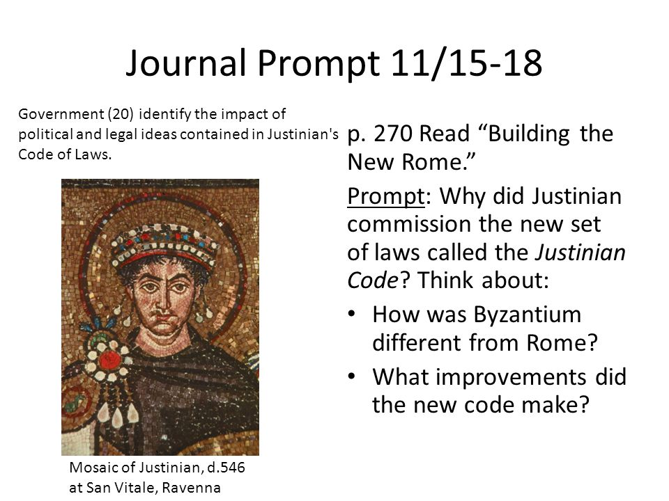 Journal Prompt 11/15-18 p.