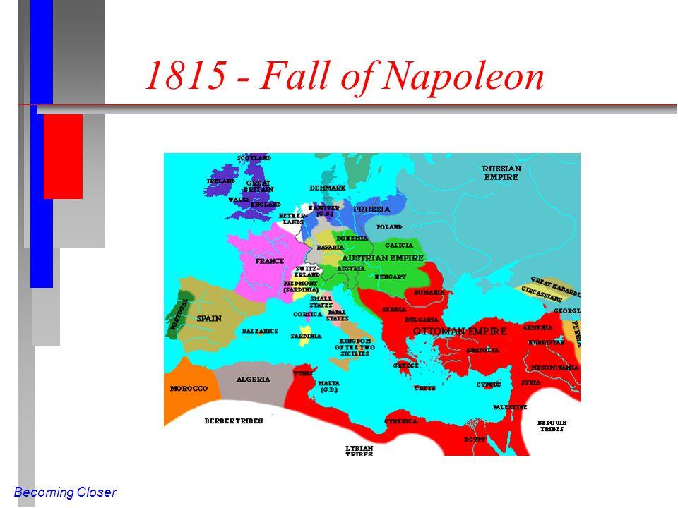 Becoming Closer 1815 - Fall of Napoleon