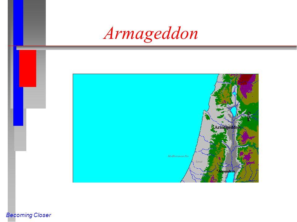 Becoming Closer Armageddon